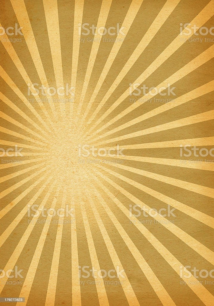 paper with burst royalty-free stock photo