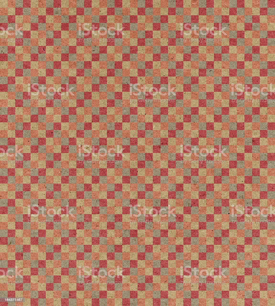 paper with checked pattern royalty-free stock photo