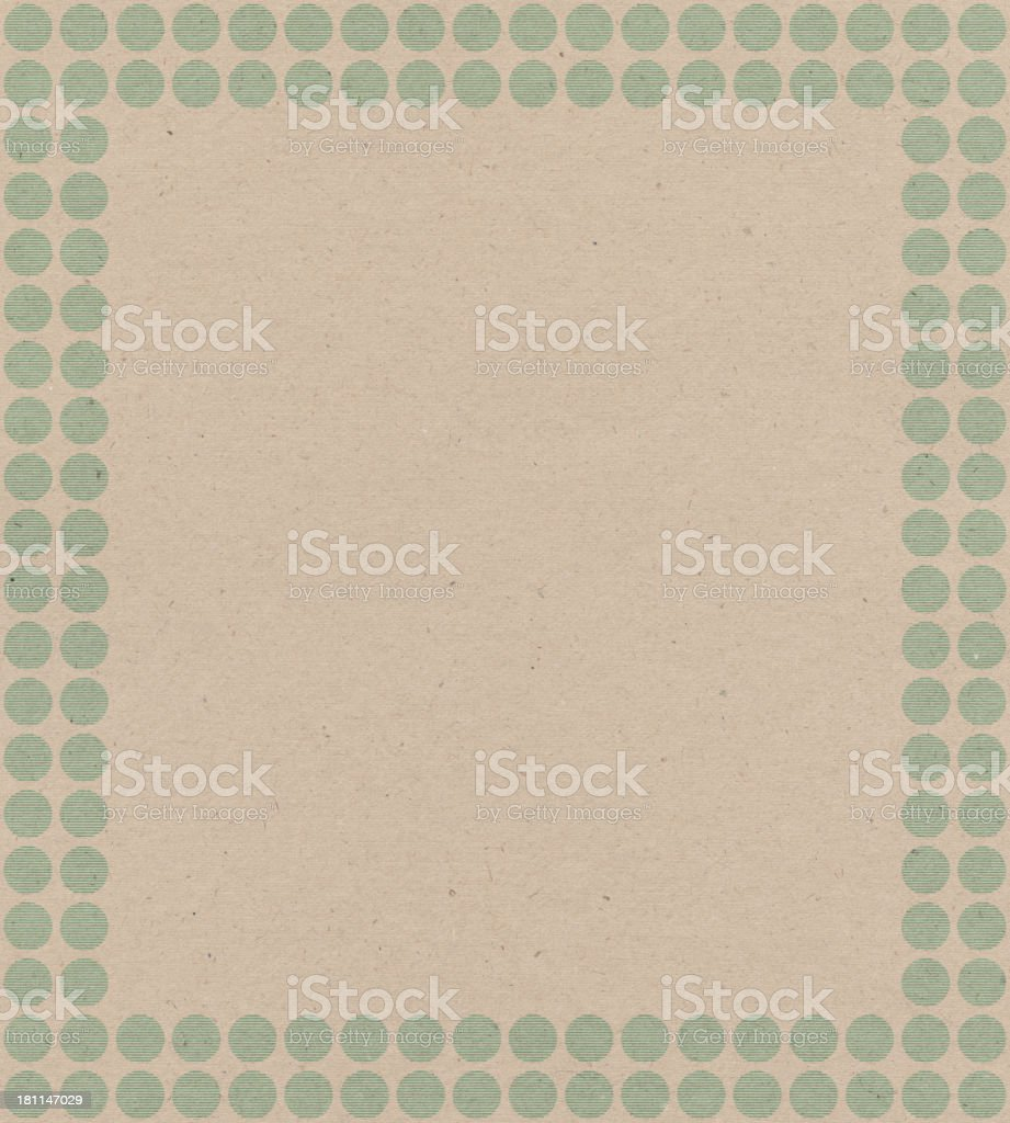 paper with circle frame pattern royalty-free stock photo