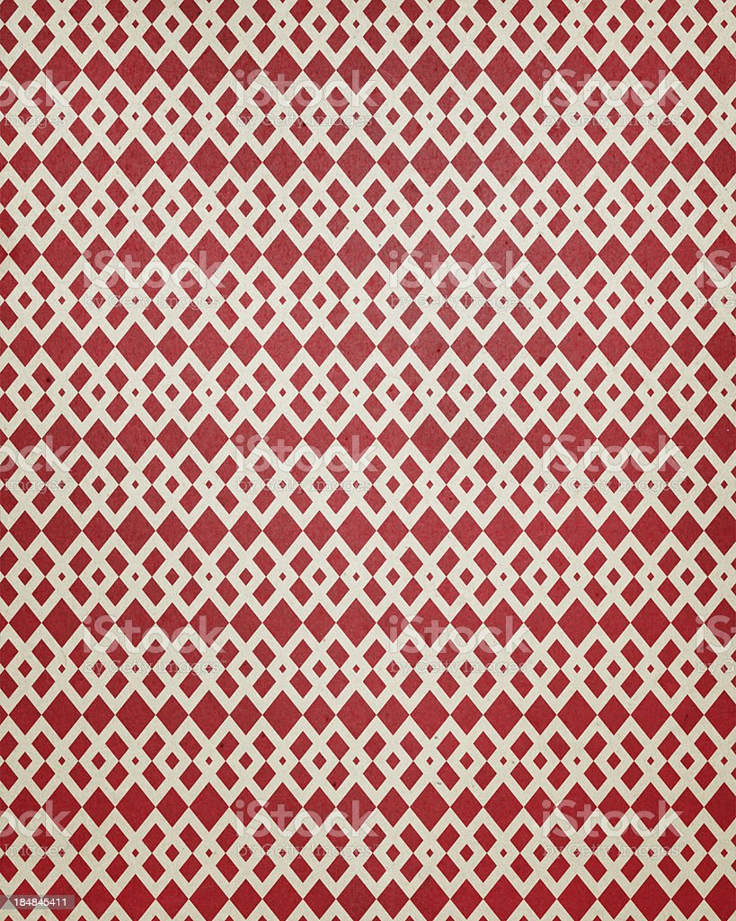 paper with diamond pattern royalty-free stock photo