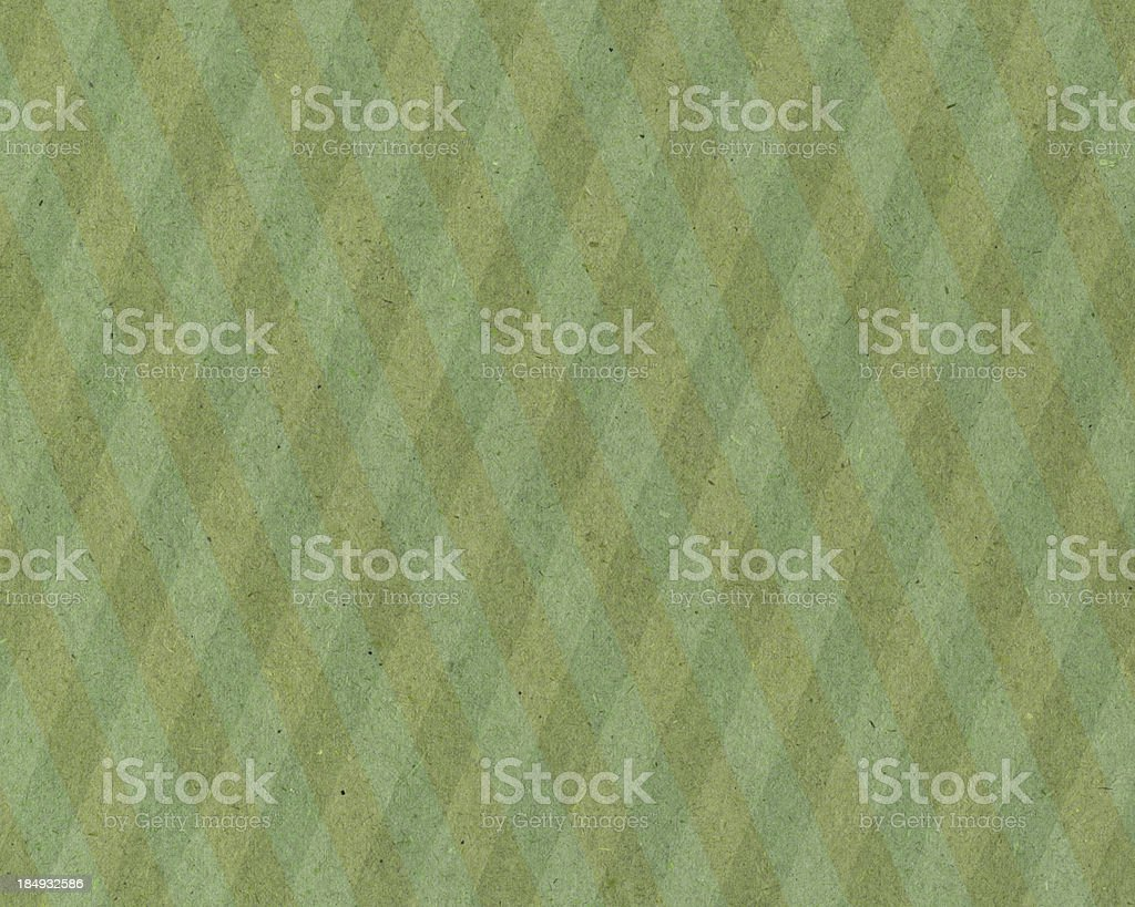 paper with green plaid pattern stock photo