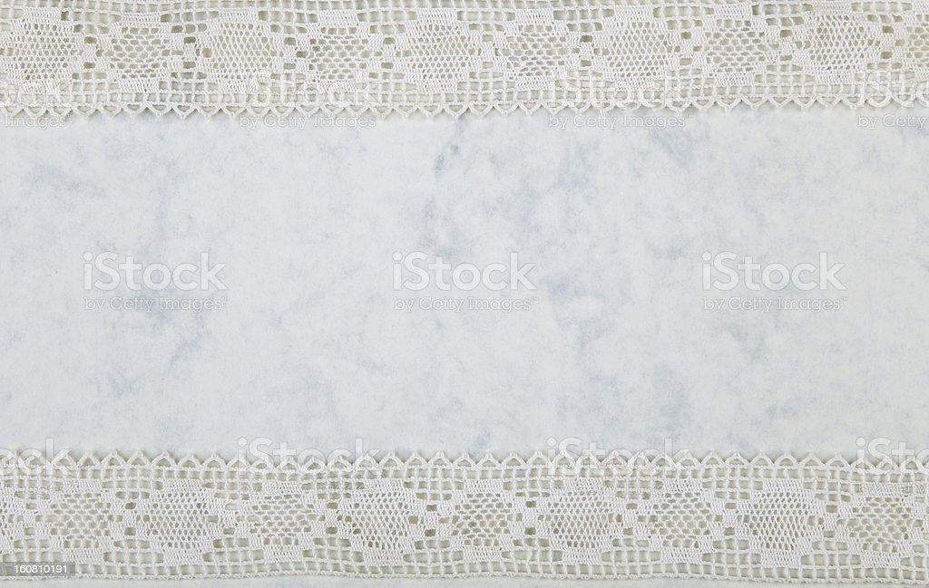 Paper with lacy border royalty-free stock photo