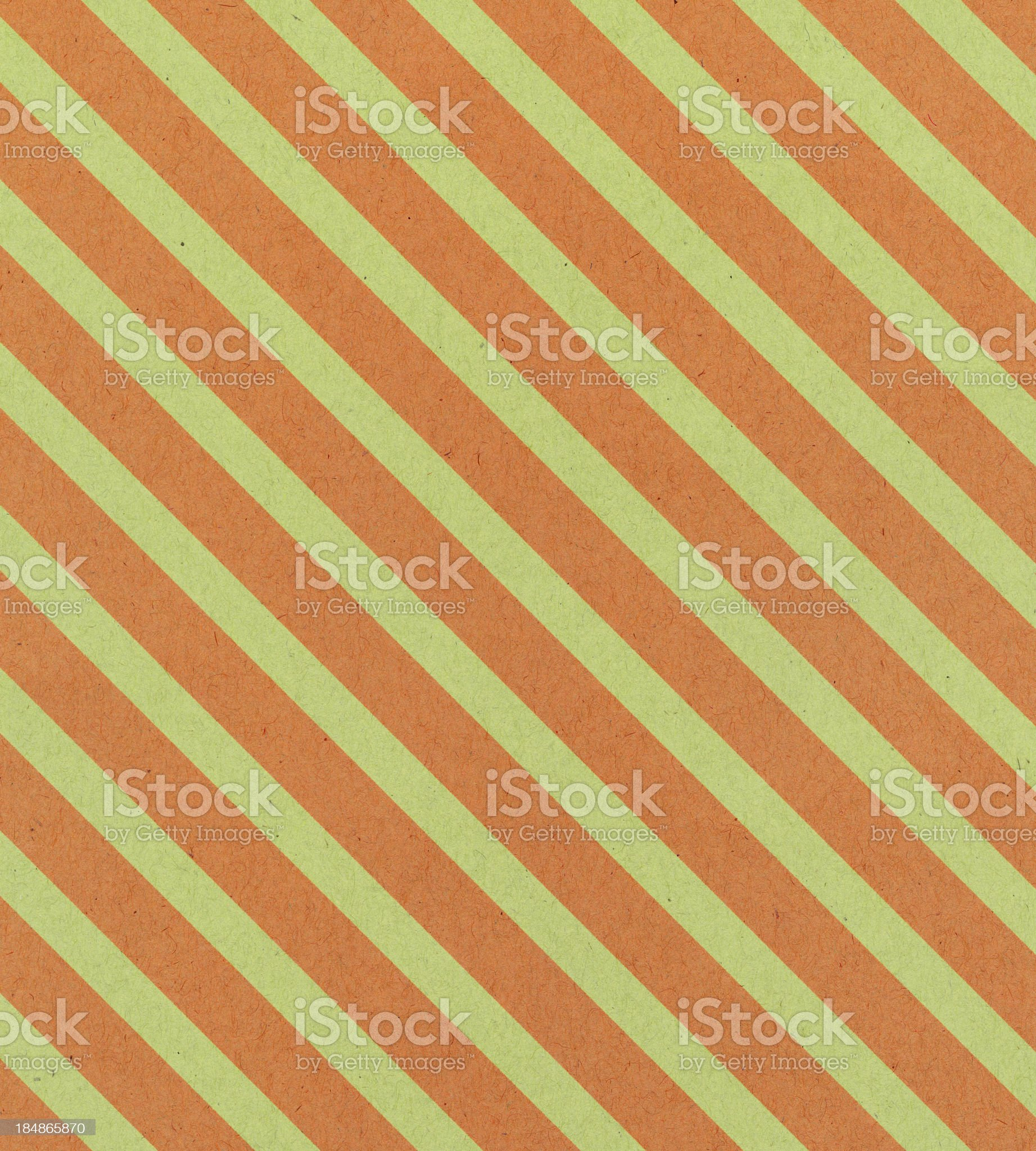 paper with orange and green stripe royalty-free stock vector art
