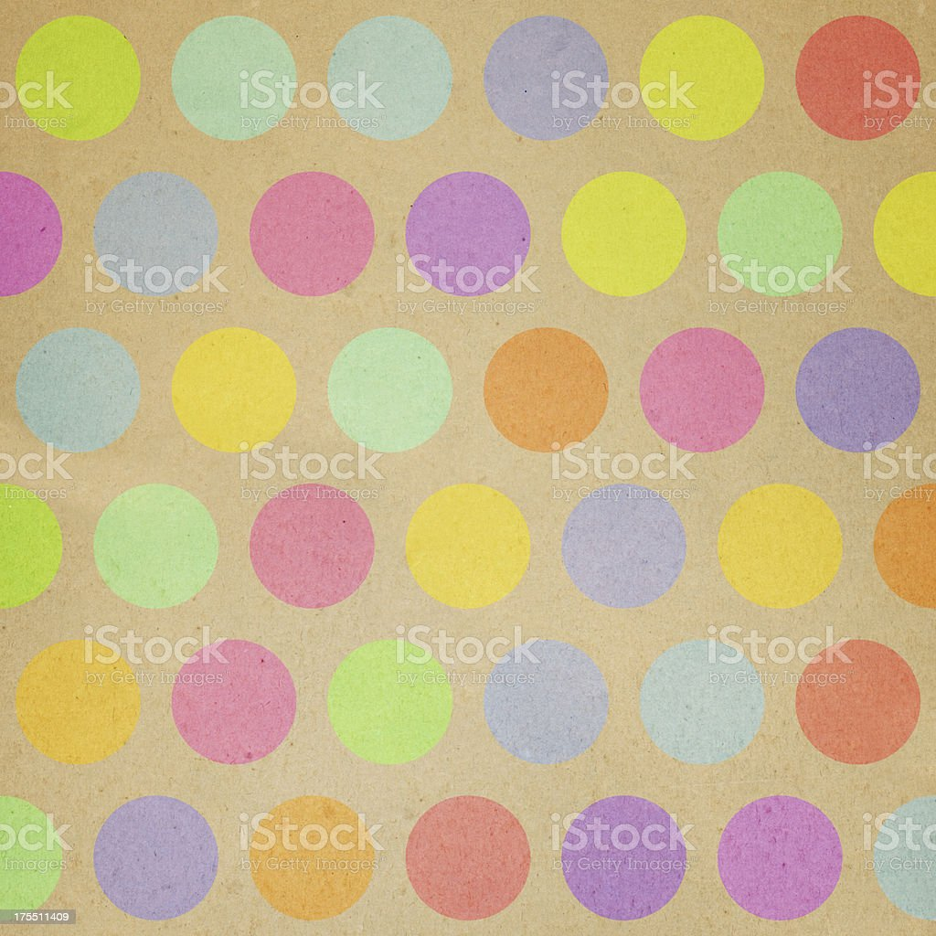 paper with random color dot pattern royalty-free stock photo