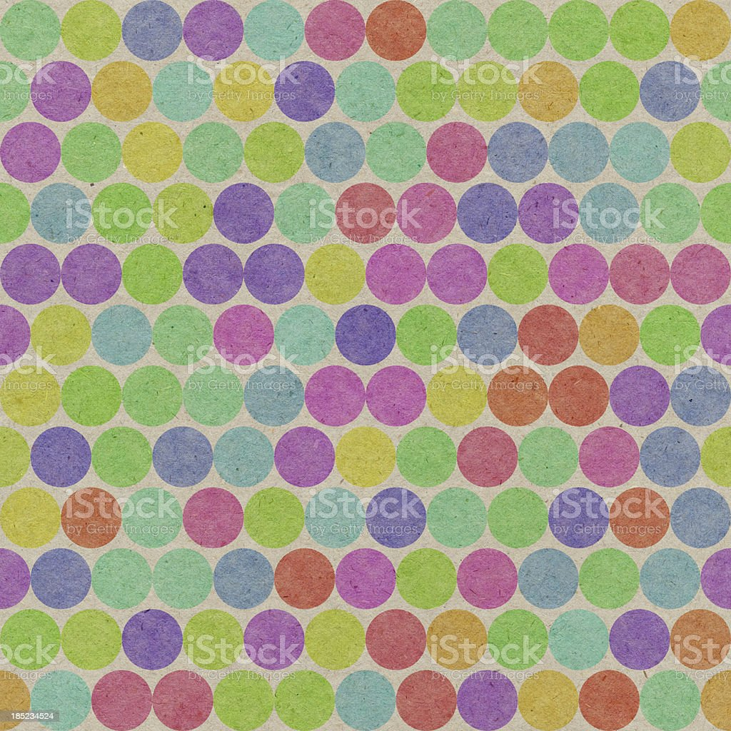paper with seamless color dot pattern royalty-free stock vector art