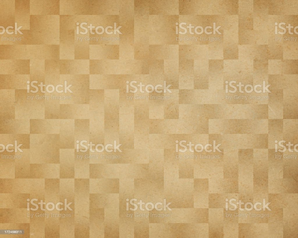paper with square geometric pattern royalty-free stock photo