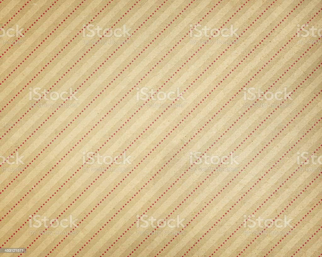 paper with subtle stripe and red dots royalty-free stock vector art