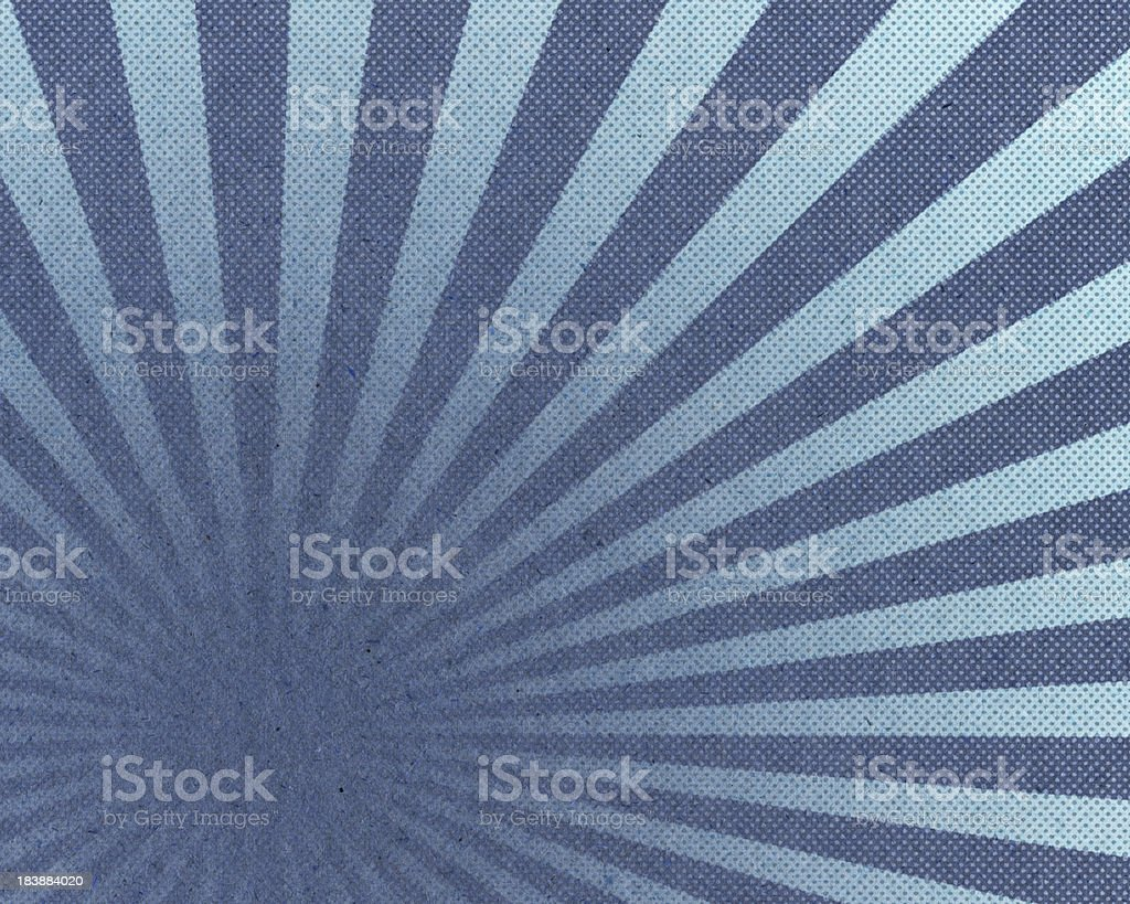paper with sunbeam halftone pattern stock photo