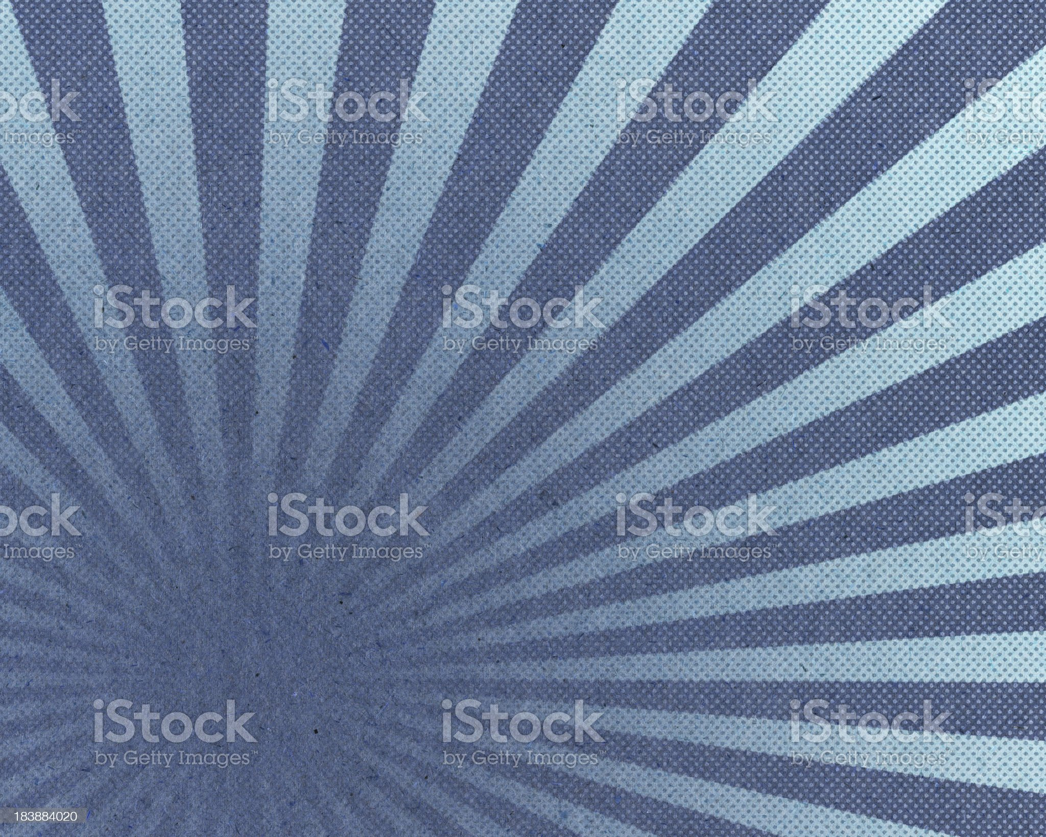 High resolution paper with sunbeam halftone pattern royalty-free stock vector art