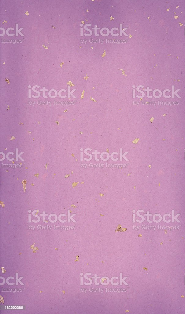 Paper with the gold impregnations (XXL) stock photo