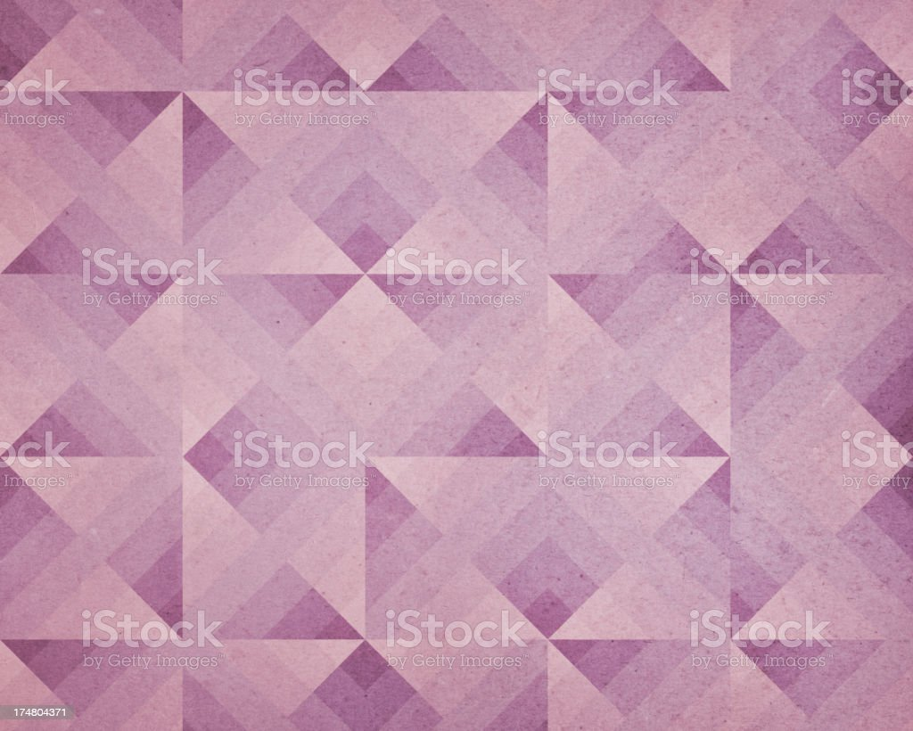 paper with triangle pattern royalty-free stock photo