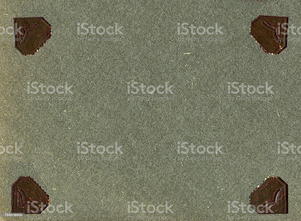 Paper with vintage photo corners royalty-free stock photo