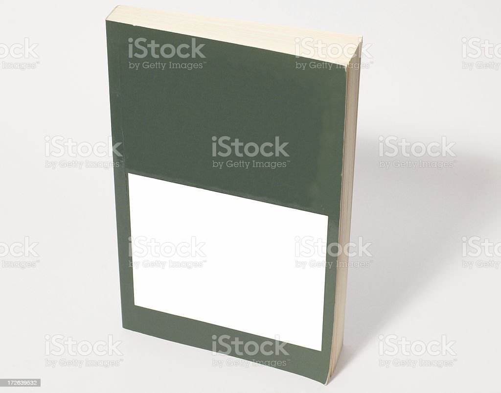 paperback cover royalty-free stock photo