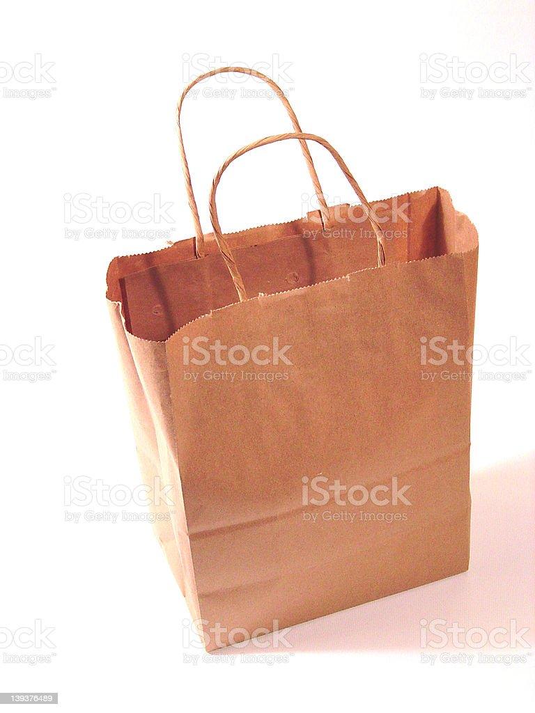 paperbag 01 royalty-free stock photo