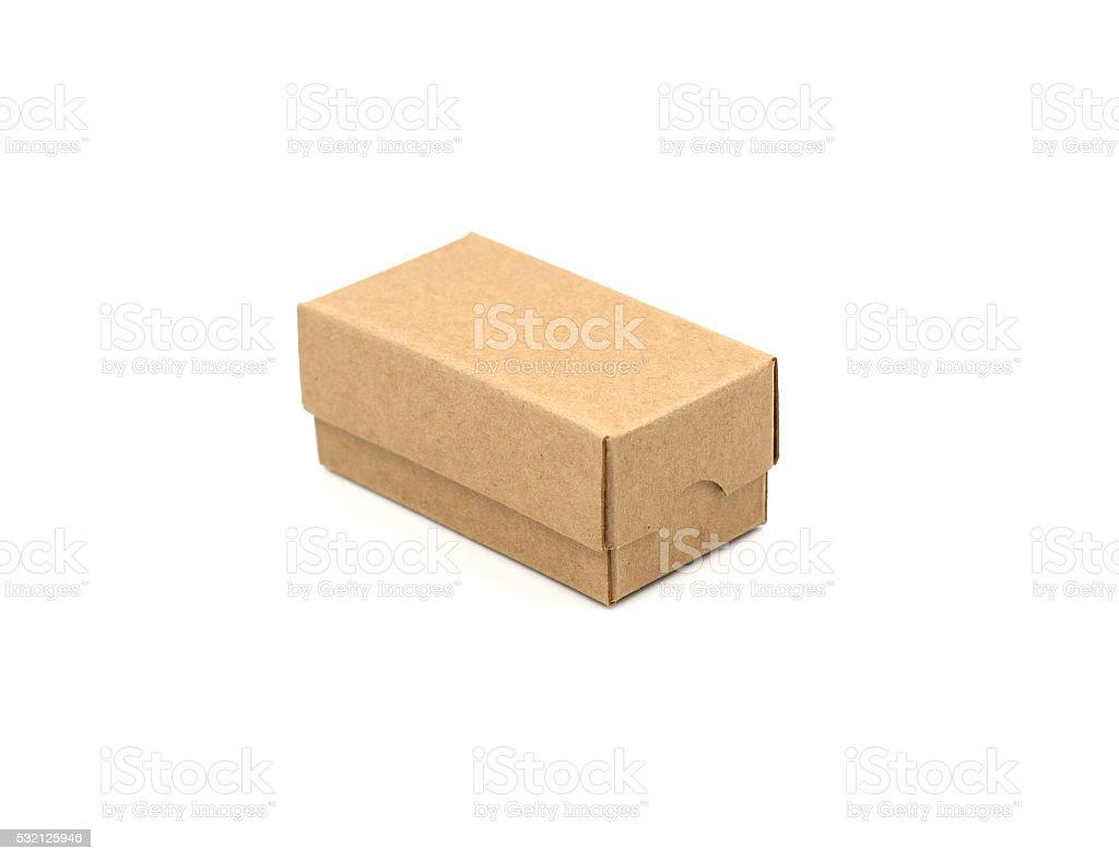 Paperbox stock photo