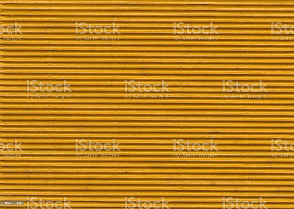 Papers of Distinction: Corrugated Brown stock photo