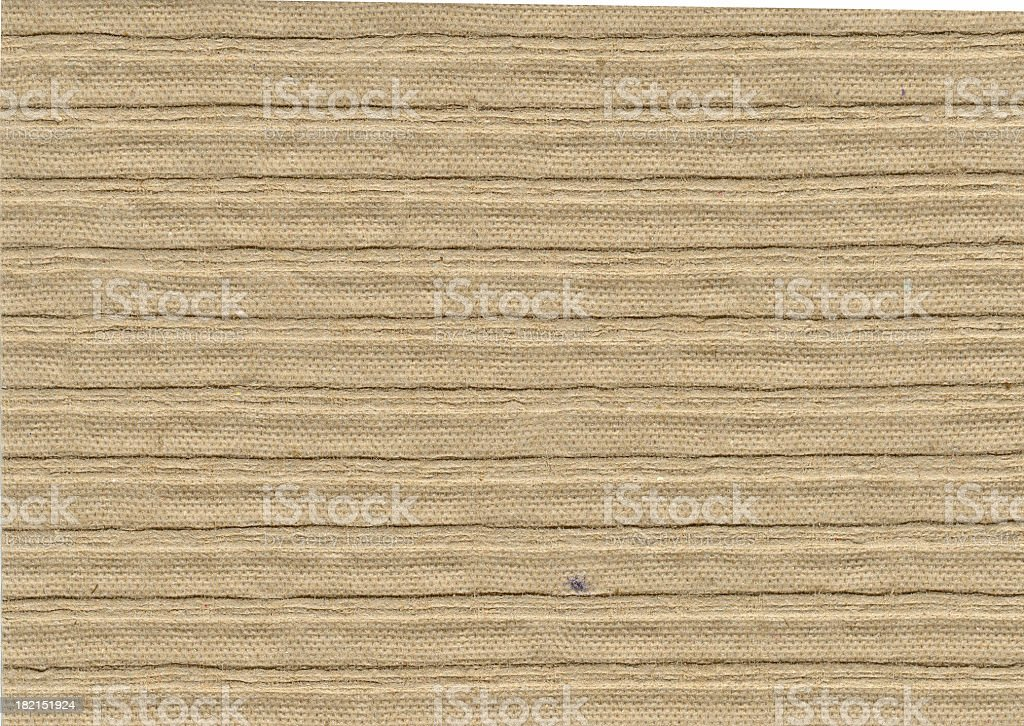 Papers of Distinction: Corrugated stock photo