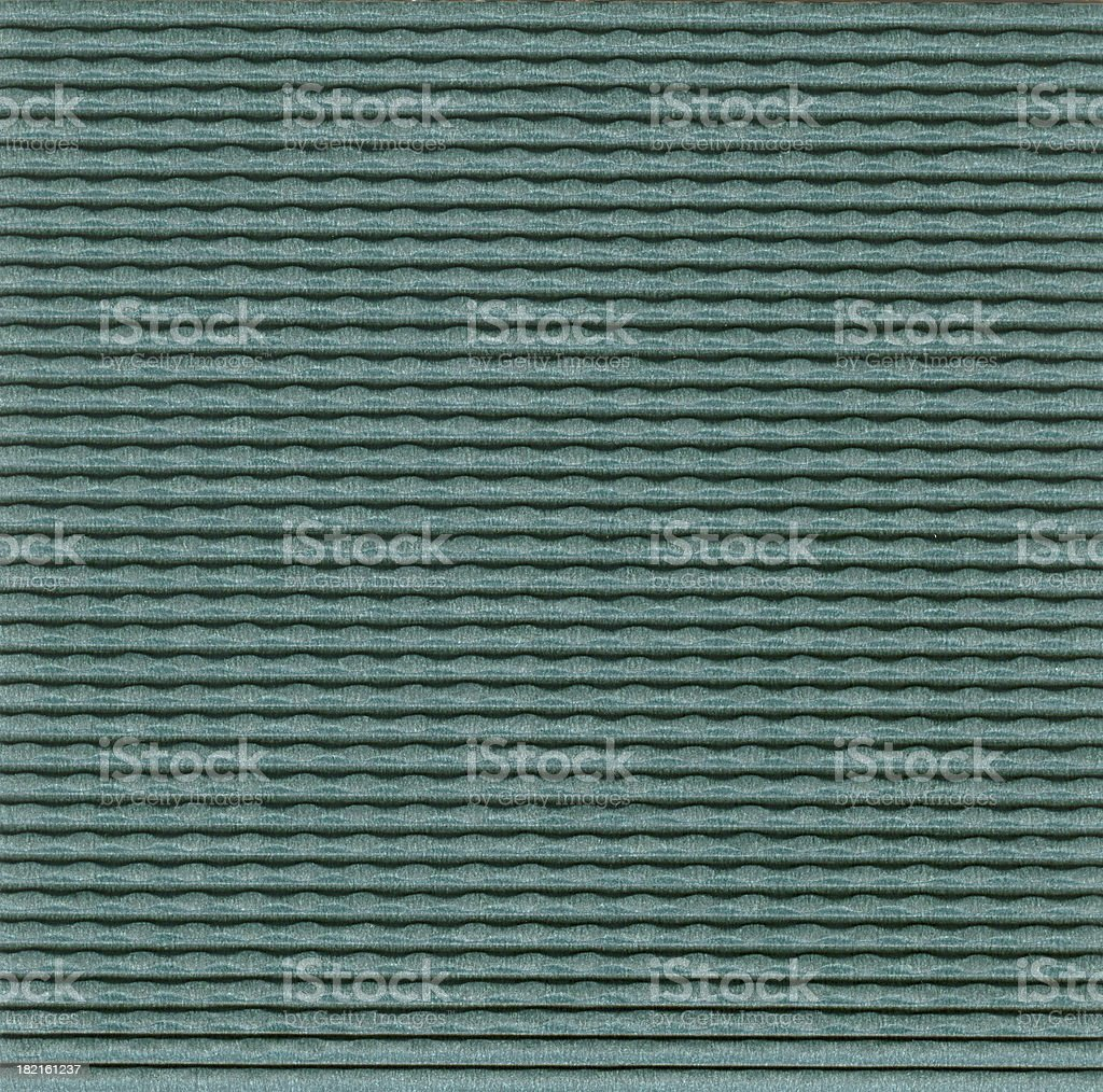 Papers of Distinction: Green Corrugated stock photo