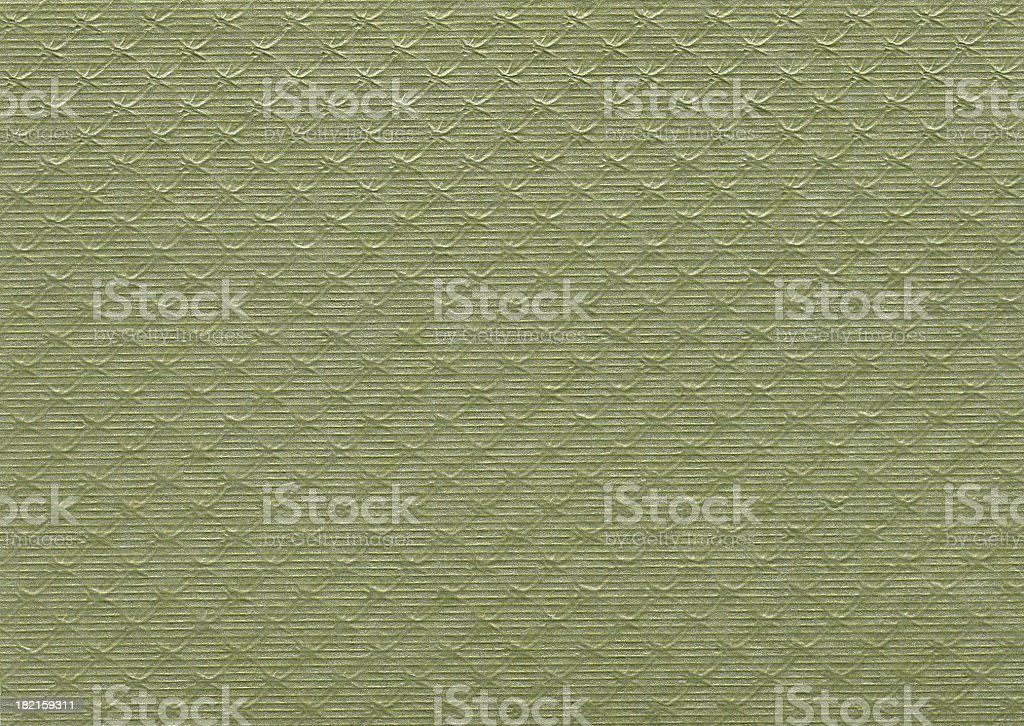 Papers of Distinction: Green Webbing stock photo
