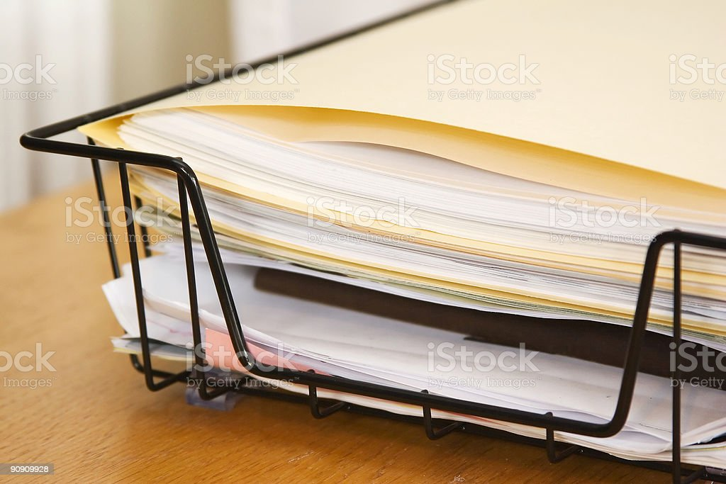 Papers Other Corner stock photo