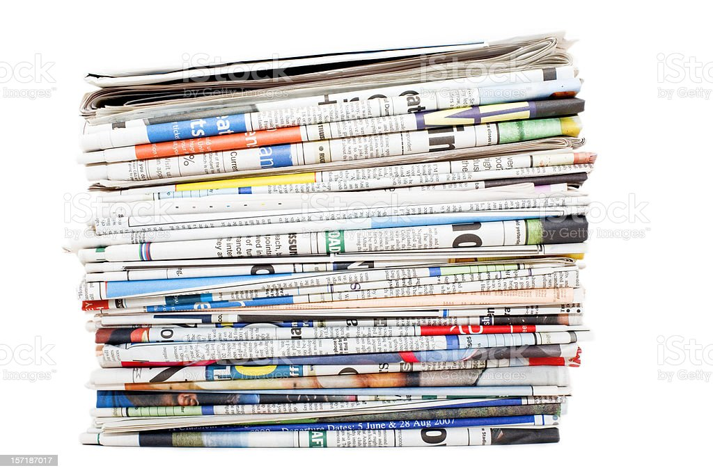 Papers stock photo