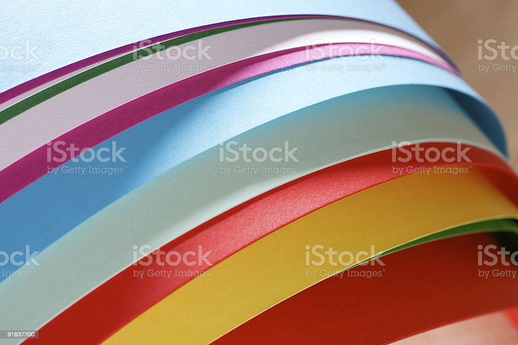 Papers... royalty-free stock photo
