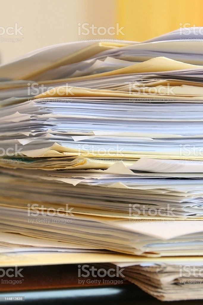 papier arbeit royalty-free stock photo