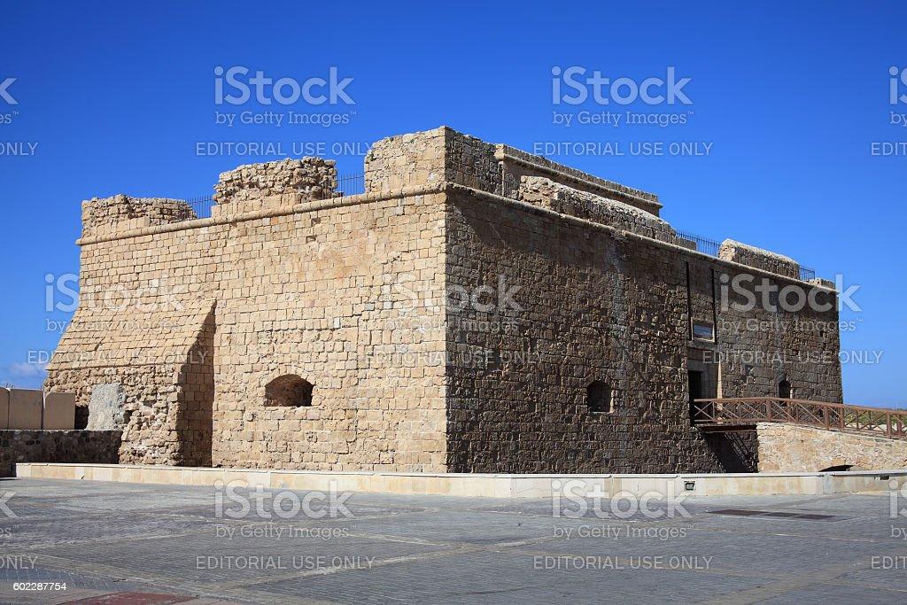 Paphos Castle, Cyprus stock photo