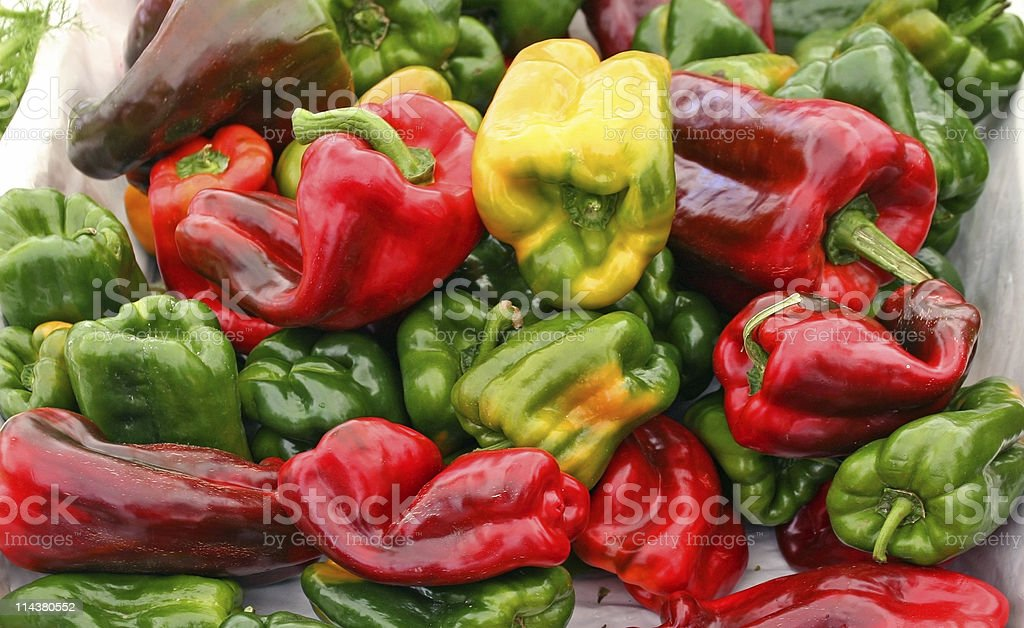 Paprika - Peppers royalty-free stock photo