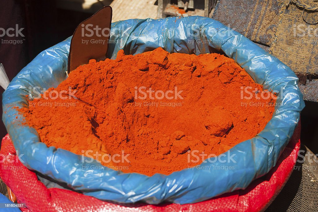 Paprika stock photo