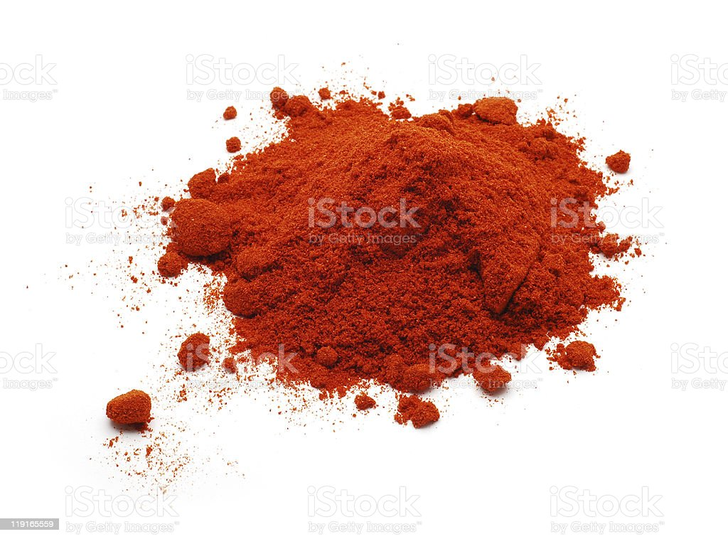 paprika powder royalty-free stock photo