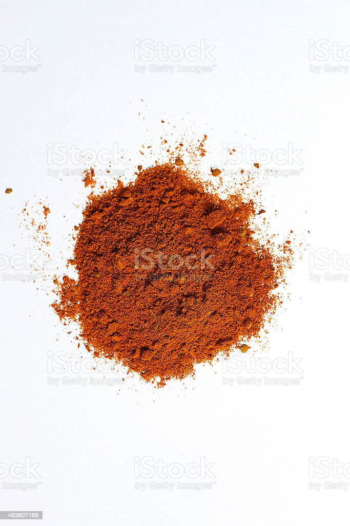 Paprika in polvere foto stock royalty-free