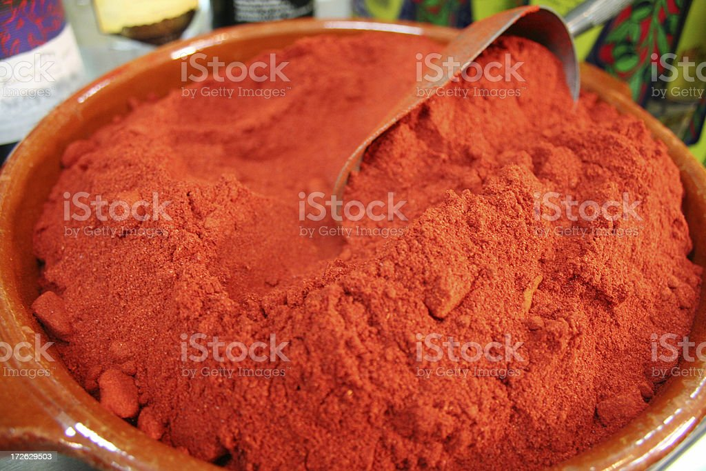 Paprika Spice stock photo