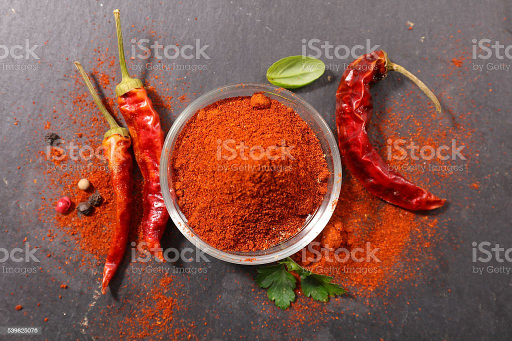 paprika,hot pepper stock photo