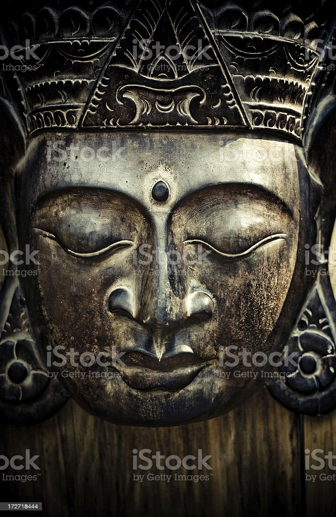 papua mask royalty-free stock photo