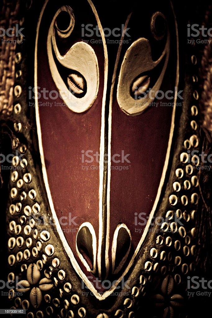 Papua New Guinea mask royalty-free stock photo