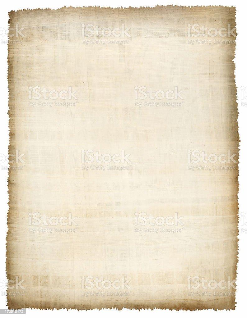 Papyros royalty-free stock photo