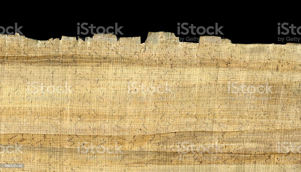 papyrus paper background and edge stock photo