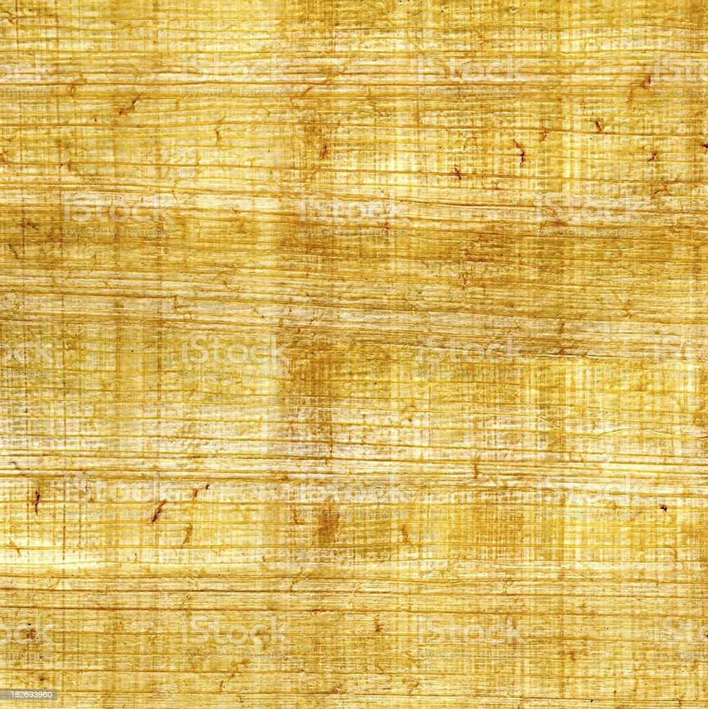 Papyrus Texture royalty-free stock photo