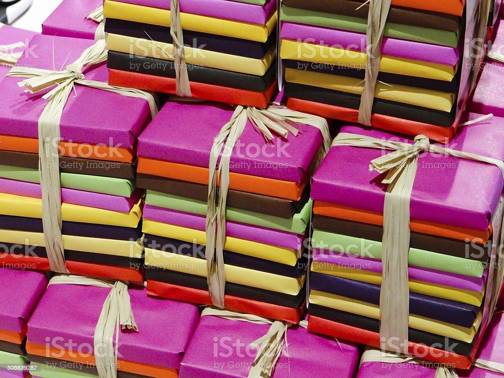 Paquets cadeaux stock photo