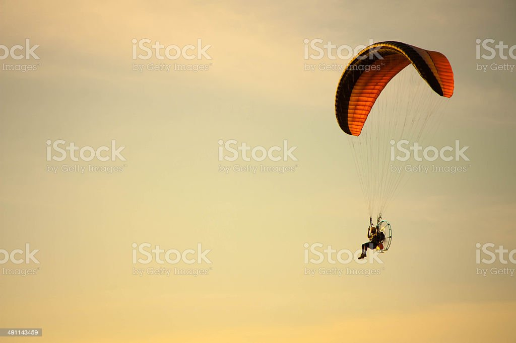para motor glider stock photo