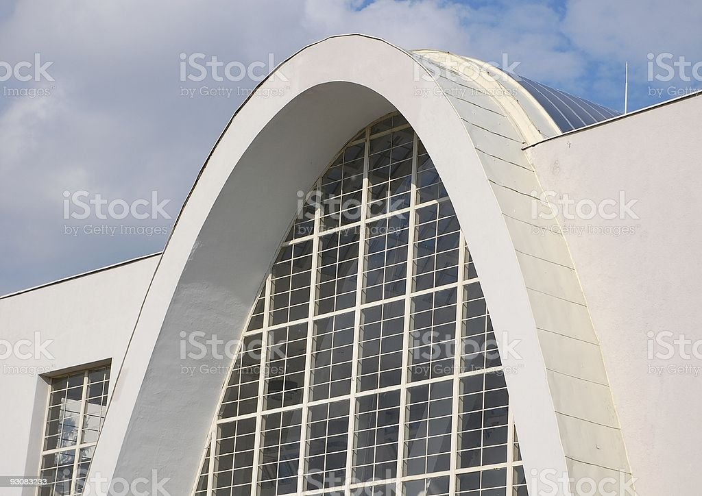 Parabolic ramp royalty-free stock photo