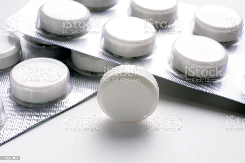 Paracetamol Pills-2 stock photo