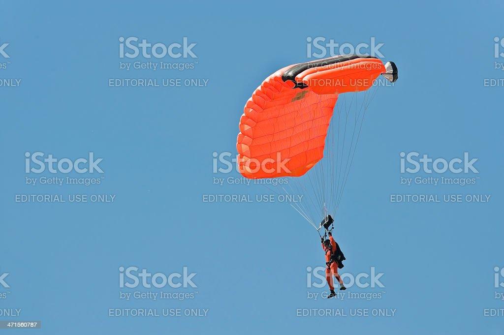 Parachute Control stock photo