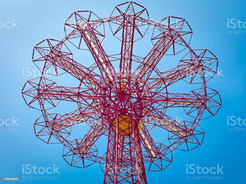 Parachute Jump Coney Island royalty-free stock photo