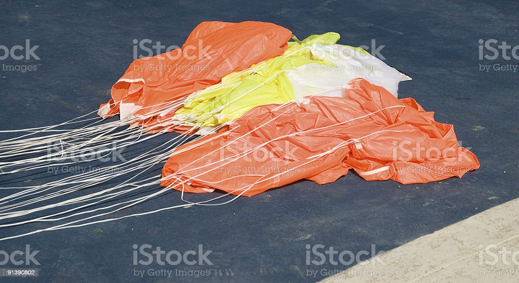 Parachute royalty-free stock photo