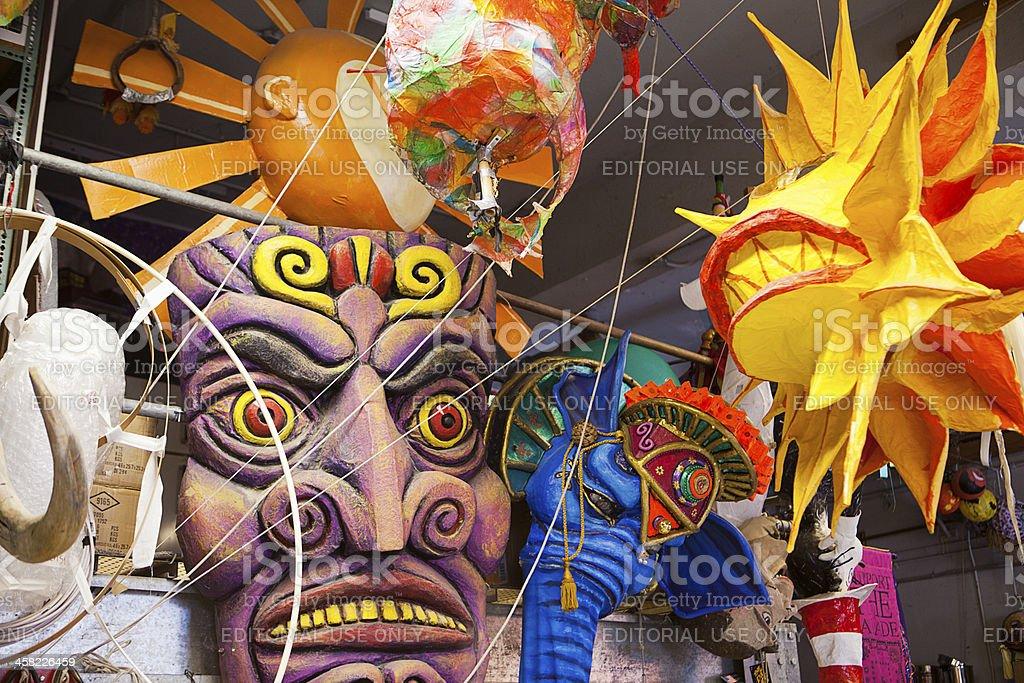 Parade Decorations stock photo