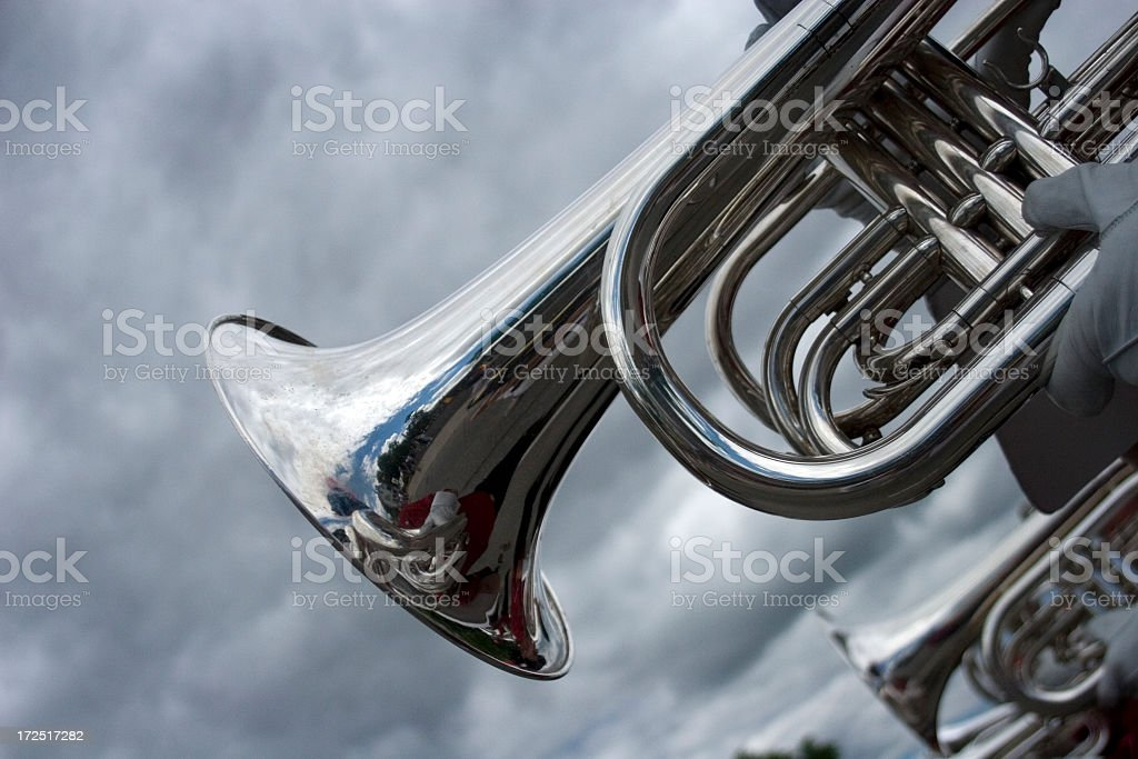 Parade Horns royalty-free stock photo