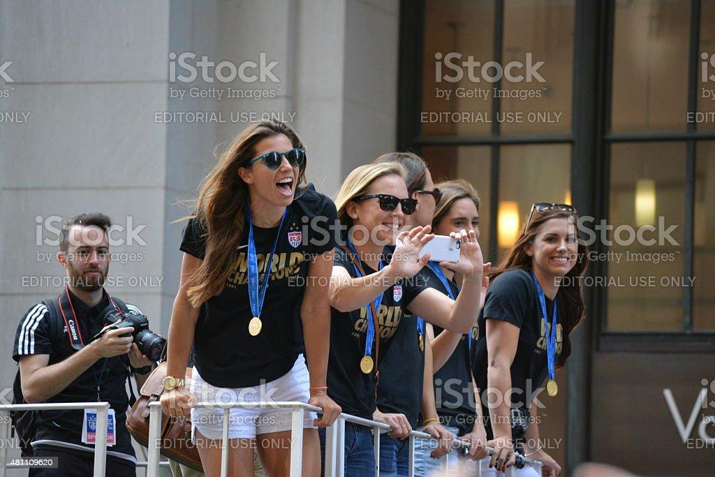 Parade stock photo