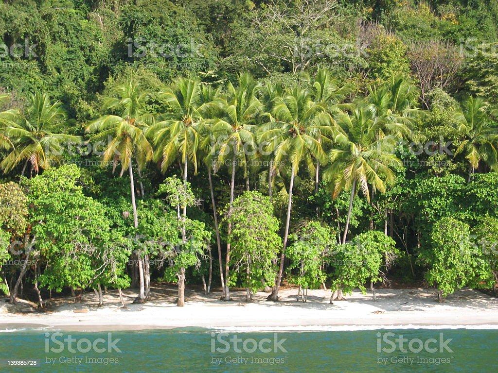 Paradeise Beach royalty-free stock photo